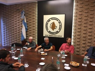 Visita del Presidente de ITGA
