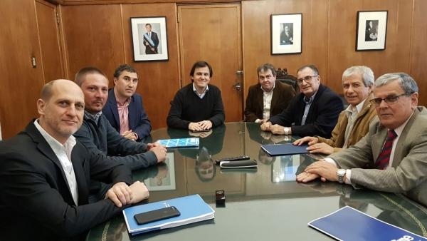 Reunión con Ministro de Agroindustria