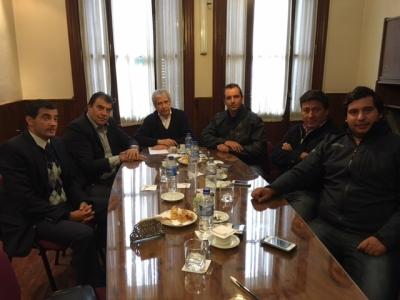 El diputado Marcelo Nasif visitó la Cámara del Tabaco